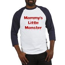 Mommy's Little Monster 2 Baseball Jersey