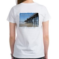 Oceanside Pier (Art 2 sides) Tee