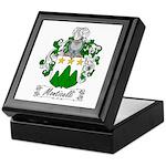 Monticelli Family Crest Keepsake Box