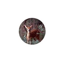 Whitetail Deer Mini Button (100 pack)