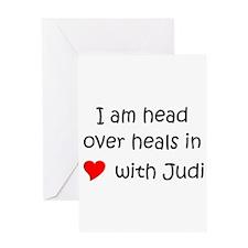 Judi Greeting Card