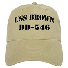 USS BROWN Baseball Cap