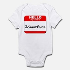 Hello my name is Johnathon Infant Bodysuit