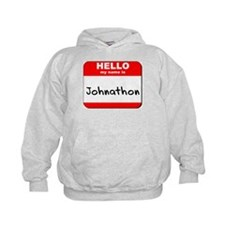 Hello my name is Johnathon Hoodie