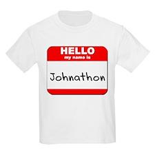 Hello my name is Johnathon T-Shirt