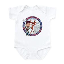 Cute Field hockey mom Infant Bodysuit