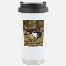 Leopard Bed Frenchie Travel Mug