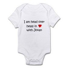 Unique I heart jovan Infant Bodysuit