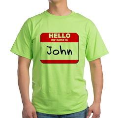 Hello my name is John T-Shirt