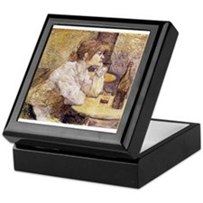 The Hangover (Woman Drinking) Keepsake Box