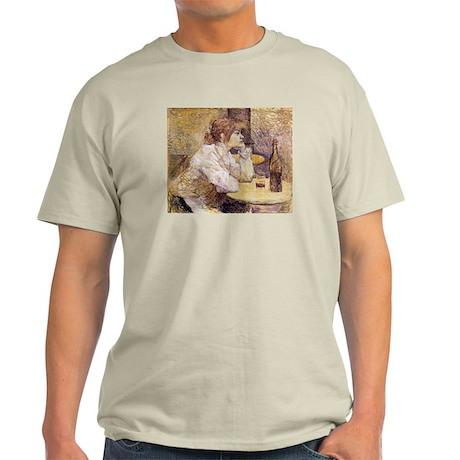 The Hangover (Woman Drinking) Light T-Shirt