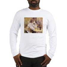 The Hangover (Woman Drinking) Long Sleeve T-Shirt