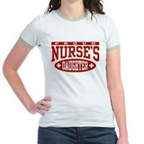 Nurses daughter Jr. Ringer T-Shirt