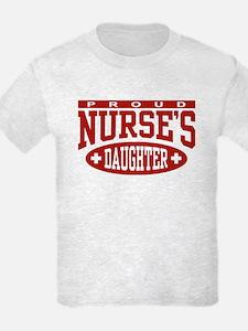 Proud Nurse's Daughter T-Shirt