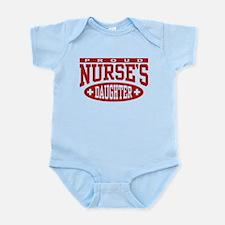 Proud Nurse's Daughter Infant Bodysuit