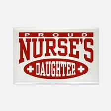 Proud Nurse's Daughter Rectangle Magnet