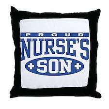 Proud Nurse's Son Throw Pillow