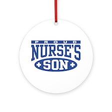 Proud Nurse's Son Ornament (Round)