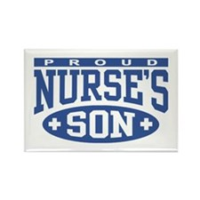 Proud Nurse's Son Rectangle Magnet