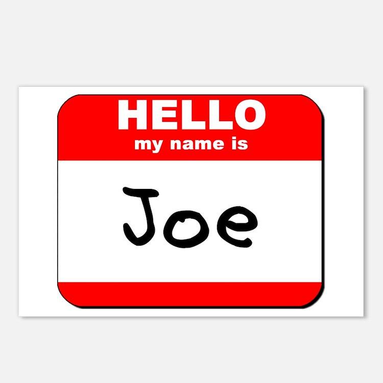 Hello my name is Joe Postcards (Package of 8)