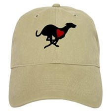 Greyhound Baseball Cap/Hearthound