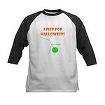 I FLIP FOR HALLOWEEN Kids Baseball Jersey