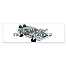 Flying Car Bumper Bumper Sticker