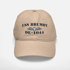 USS BRUMBY Baseball Baseball Cap
