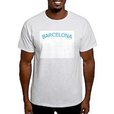 Barcelona - Ash Grey T-Shirt