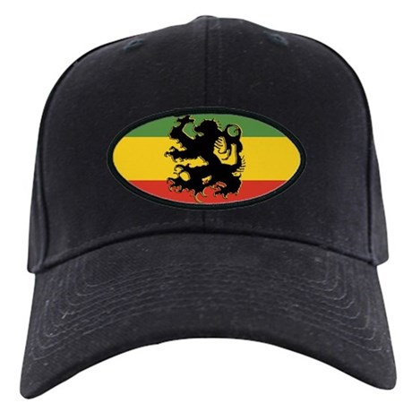 Rasta Gear Shop Rasta Flag Black Cap