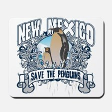 Save the Penguins New Mexico Mousepad