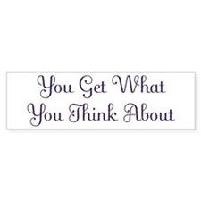 Think About Design #113 Bumper Bumper Sticker