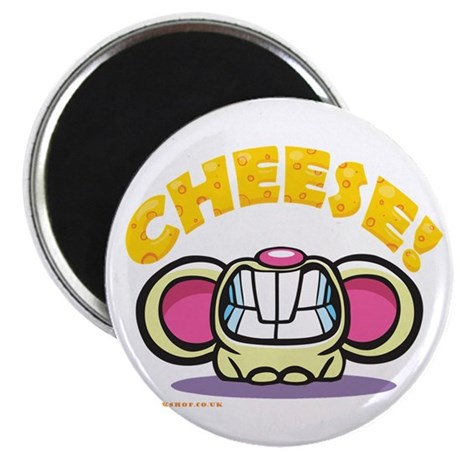 """Cheese 2.25"""" Magnet (100 pack)"""