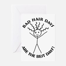 Bad Hair Days are Best Greeting Cards (Pk of 10)