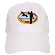 The Art of Falconry - oval Baseball Cap