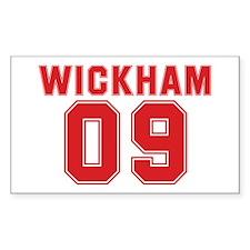 WICKHAM 09 Rectangle Decal
