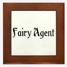 Fairy Agent Framed Tile
