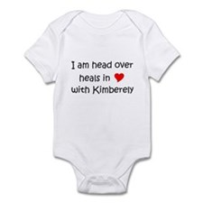 Unique I love (heart) kimber Infant Bodysuit