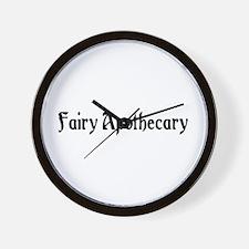 Fairy Apothecary Wall Clock