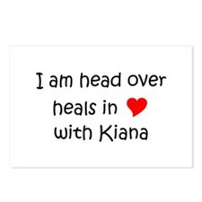 Unique I love kiana Postcards (Package of 8)