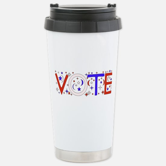 Get Out The Vote 2008 Stainless Steel Travel Mug