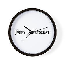 Fairy Aristocrat Wall Clock