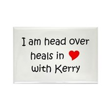 Unique I heart kerry Rectangle Magnet