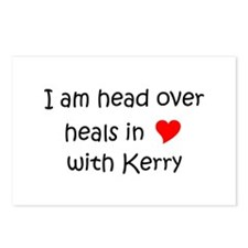 Funny I heart kerry Postcards (Package of 8)