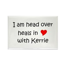 Cute I heart kerry Rectangle Magnet