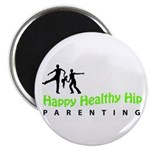"""Happy Healthy Hip 2.25"""" Magnet (100 pack)"""