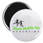 Happy Healthy Hip Magnet