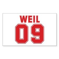 WEIL 09 Rectangle Decal