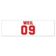WEIL 09 Bumper Sticker (50 pk)
