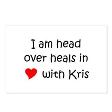 Funny I love kris Postcards (Package of 8)